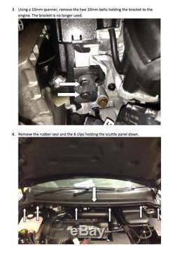 FORGE MOTORSPORT Blow Off Dump Valve for Ford Focus ST 225 MK2 FMFOCSTDV BLUE