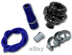 FORGE RAM ATMOSPHERIC BLOW OFF DUMP VALVE in SILVER + FITTING KIT FOR IMPREZA