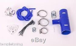 Forge Blow Off Dump Valve & Fitting Kit FMFK054 BLUE for Renault Megane 225 230
