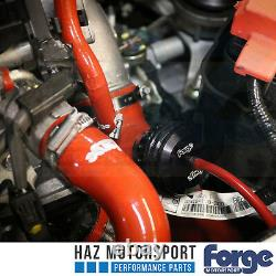 Forge Blow Off Dump Valve Turbo Boost + Inlet Hose Honda Civic Type R 2.0T FK2