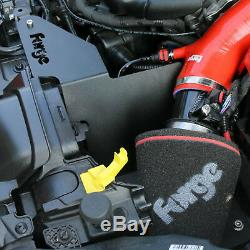 Forge Induction Intake Kit + Inlet Hose + Crossover Pipe Fiesta ST180 1.6T RED