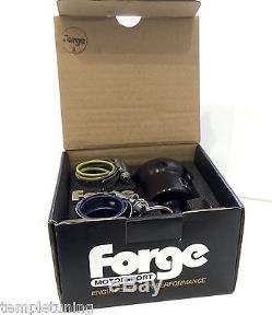 Forge Motorsport BLACK Turbo Recirculation / Recirculating Dump Valve FMDV008