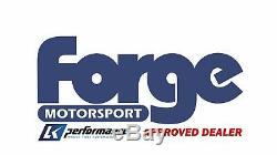 Forge Motorsport Blow Off Dump Valve & Kit Red Fits Ford Focus MK2 2.5 ST 225