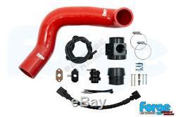 Forge Motorsport Dump Valve Blow Off BOV Kit for VW UP 1.0 TSI/GTI FMDV18 RED