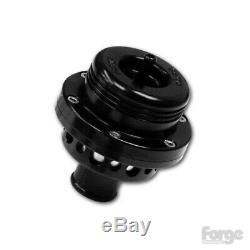 Forge Motorsport Single Piston Ram Dump Valve BLACK FMDV001GTI