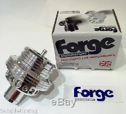 Forge Motorsport Universal Twin Piston Blow Off Dump Valve FMDV004 SILVER