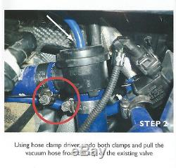 Forge Recirculation Dump Valve Golf MK4 1.8 Turbo FMDV008 Fast Response Black