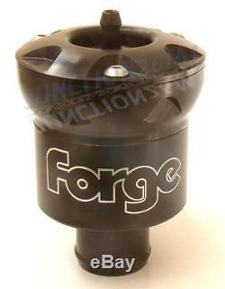 Forge Recirculation Dump Valve Leon Cupra R 1.8T FMDV008 Black Fast Response Blk