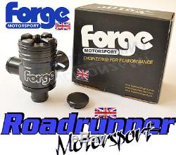 Forge Splitter R Golf Mk4 1.8 Turbo Dump Valve Recirculating Blow Off Black New