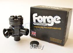 Forge Splitter R Leon Cupra R 1.8 Turbo Dump Valve Recirculating Blow Off Black