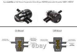 Forge Turbo Recirculation Valve with Adjustable Vacuum Port fits Nissan Micra IG