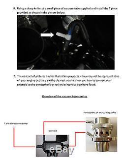 Forge VAG 1.8 & 2.0 TSi 2013 on Atmospheric Blow Off Dump Valve BLACK FMDVMK7A