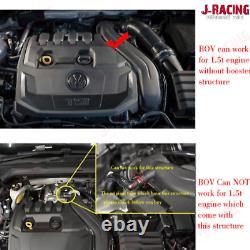 Forged Dump Blow Off Valve Kit For VW Golf MK7.5 Passat Audi Seat Skoda 1.5 TSI