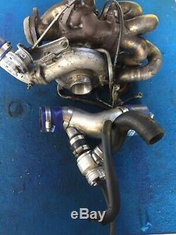 Mitsubishi Evo 9 Td05r Turbo & Tube Manifold Forge Actuator & Dump Valve