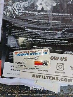 Nissan Juke K&N INDUCTION + FORGE VALVE